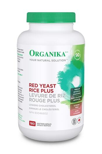 Fermentovaná ryža - pomáha znižovať hladinu cholesterolu, 180 kapsúl