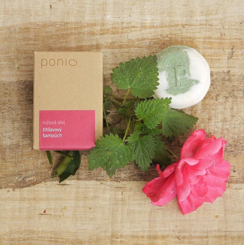 Růžová alej - kopřivový šampúch 3