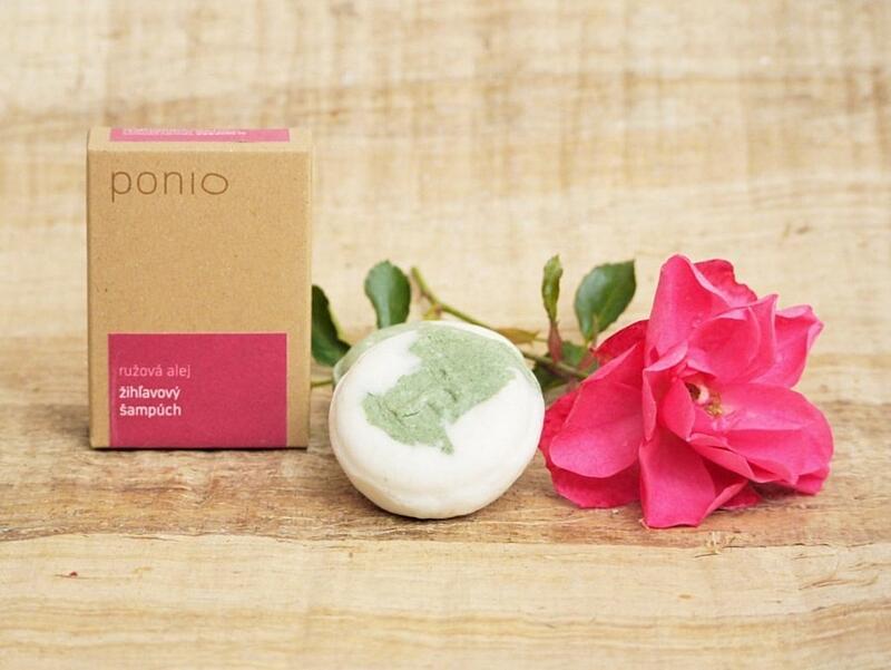 Růžová alej - kopřivový šampúch 4