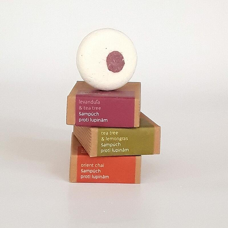 Levandule a tea tree - šampúch proti lupům 4