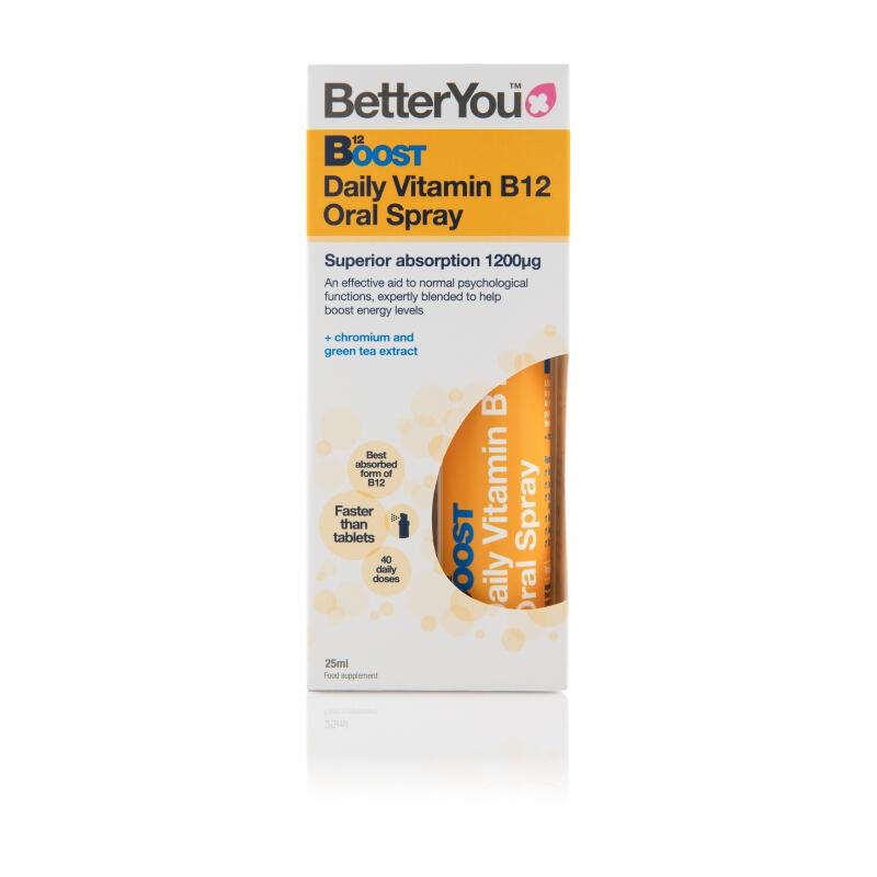 B12 1200µg - Vitamín B12  Rýchly a účinný v spreji, Akcia 3x25 ml 2