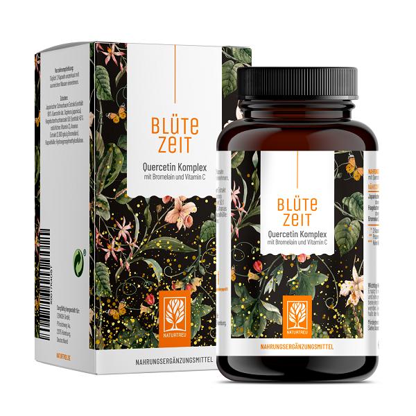 Quercetín komplex - kvercetín, bromelaín a vitamín C, 120 kapsúl
