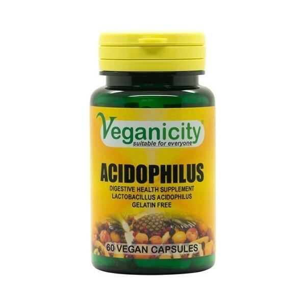 Acidophilus - probiotiká pre zdravé trávenie a imunitu,  60 kapsúl