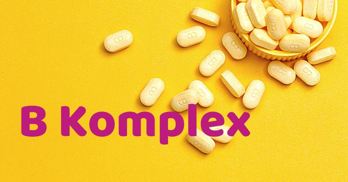 Čo zahŕňa B komplex a aké sú jeho priaznivé účinky?